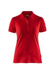 Blåkläder 3307-1035 Women's Pique Polo Shirt - Red