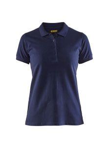 Blåkläder 3307-1035 Women's Pique Polo Shirt - Navy