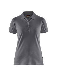 Blåkläder 3307-1035 Women's Pique Polo Shirt - Grey