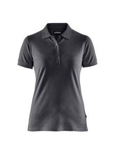 Blåkläder 3307-1035 Women's Pique Polo Shirt - Dark Grey