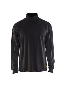 Blåkläder 3320-1040 Poloneck l/s - Black