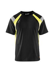 Blåkläder 3332-1030 T-shirt Visible - Black