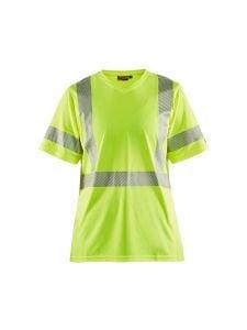 Ladies High Vis T-shirt 3336 High Vis Geel - Blåkläder