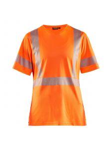 Ladies High Vis T-shirt 3336 High Vis Oranje - Blåkläder