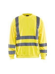 Sweatshirt High Vis 3341 High Vis Geel - Blåkläder