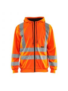 Hooded Sweater High Vis 3346 High Vis Oranje - Blåkläder