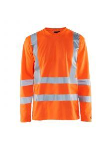UV T-Shirt High Vis Long Sleeve 3381 High Vis Oranje - Blåkläder