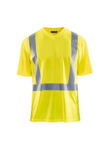UV T-shirt High Vis 3382 High Vis Geel - Blåkläder