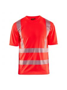 UV T-shirt High Vis 3386 High Vis Rood - Blåkläder