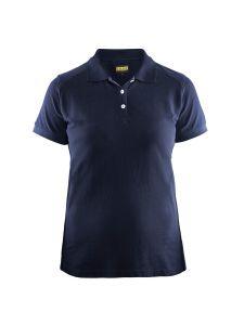 Blåkläder 3390-1050 Women's Pique Polo Shirt - Navy