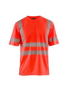 UV T-shirt High Vis 3420 High Vis Rood - Blåkläder