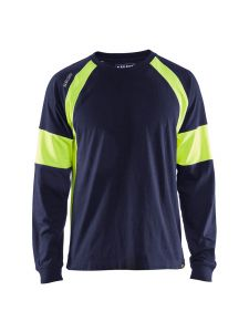 Blåkläder 3520-1030 T-shirt l/s - Navy