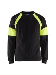 Blåkläder 3520-1030 T-shirt l/s - Black