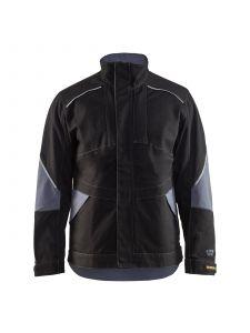 Anti-Flame Jacket 4061 Zwart/Grijs - Blåkläder