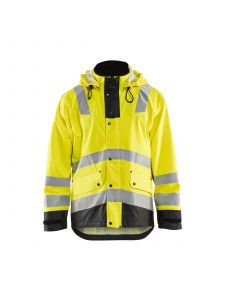 Rain Jacket Level 2 4302 High Vis Geel/Zwart - Blåkläder