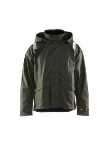 Rain Jacket Level 2 4302 Army Groen - Blåkläder