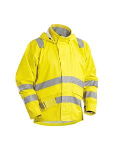 Flame Retardant Rainjacket 4303 High Vis Geel - Blåkläder
