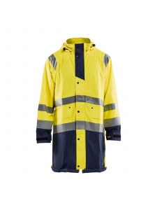 Rain Jacket High Vis Level 1 4324 High Vis Geel/Marine - Blåkläder