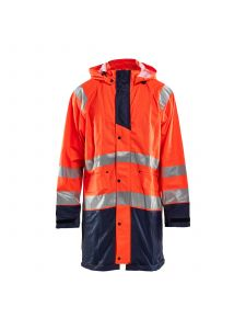 Rain Jacket High Vis Level 1 4324 High Vis Oranje/Marine - Blåkläder