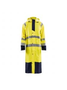 Rain Coat High Vis Level 1 4325 High Vis Geel/Marine - Blåkläder