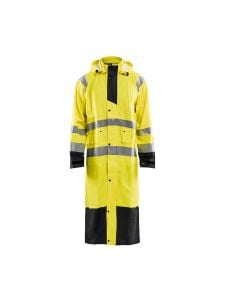 Rain Coat High Vis Level 1 4325 High Vis Geel/Zwart - Blåkläder