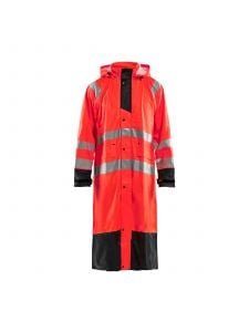 Rain Coat High Vis Level 1 4325 High Vis Rood/Zwart - Blåkläder