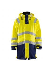 Rain Jacket High Vis Level 3 4326 High Vis Geel/Marine - Blåkläder
