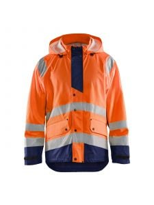 Rain Jacket High Vis Level 3 4327 High Vis Oranje/Marine - Blåkläder