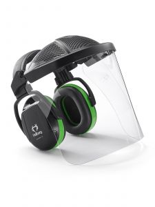 Hellberg SECURE 1H PC Visor & Hearing Protector