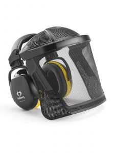 Hellberg Secure 2H Hearing and Face Protection Nylon Mesh