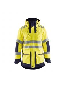 High Vis Parka Evolution 4469 High Vis Geel/Marineblauw - Blåkläder