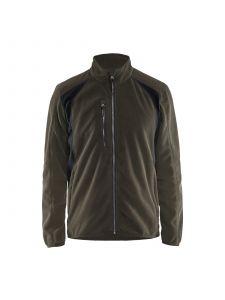 Fleece Jacket 4730 Groen/Zwart - Blåkläder