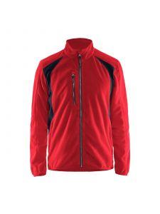 Fleece Jacket 4730 Rood/Zwart - Blåkläder