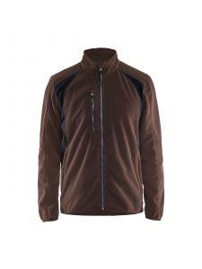 Fleece Jacket 4730 Bruin/Zwart - Blåkläder