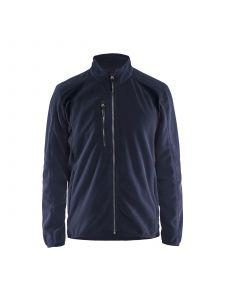 Fleece Jacket 4730 Donker Marineblauw/Zwart - Blåkläder