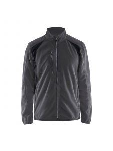 Fleece Jacket 4730 Donkergrijs/Zwart - Blåkläder