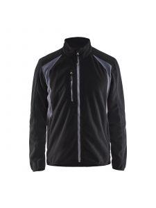 Fleece Jacket 4730 Zwart/Grijs - Blåkläder