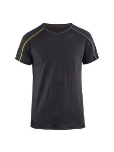 Blåkläder 4798-1734 Underwear T-shirt s/s XLight 100% Merino - Dark Grey