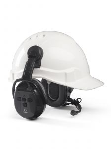 Hellberg Xstream LD Attachment Hearing Protection Cap/Helmet (Active Listening)
