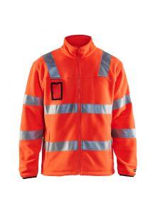 Fleece Jacket High Vis 4833 High Vis Rood - Blåkläder