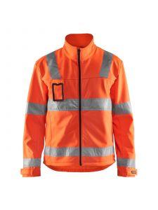 High Vis Soft Shell Jacket 4838 High Vis Oranje - Blåkläder