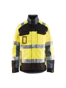 Winter Jacket 4851 High Vis Geel/Zwart - Blåkläder