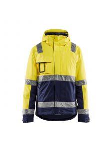 Winter Jacket High Vis 4870 High Vis Geel/Marineblauw - Blåkläder