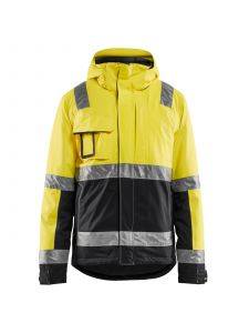 Winter Jacket High Vis 4870 High Vis Geel/Zwart - Blåkläder