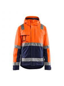 Winter Jacket High Vis 4870 High Vis Oranje/Marineblauw - Blåkläder