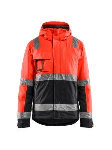 Winter Jacket High Vis 4870 High Vis Rood/Zwart - Blåkläder
