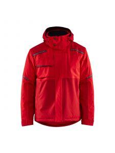 Winter Jacket 4881 Rood/Donkerrood - Blåkläder
