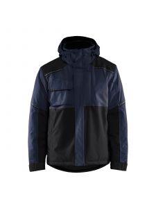 Winter Jacket 4881 Donker Marineblauw/Zwart - Blåkläder