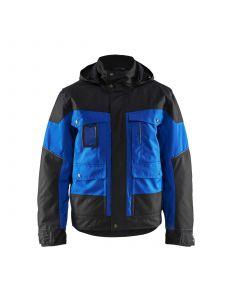 Winter Jacket 4886 Korenblauw/Zwart - Blåkläder