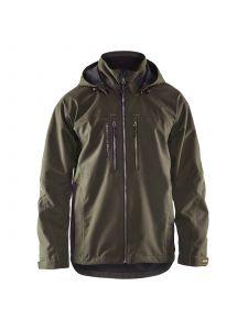 Lightweight Winter Jacket 4890 Groen/Zwart - Blåkläder